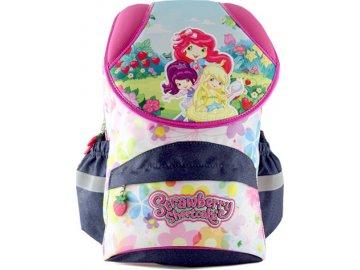 Školní batoh Strawberry Shortcake motiv tří holčiček