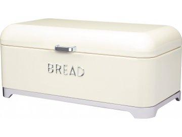 Kovová dóza na chleba Lovello krémová