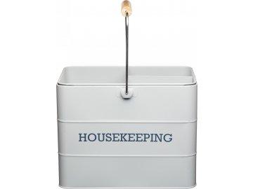 Plechový úklidový kbelík Living Nostalgia