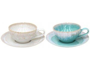 Hrnek na čaj s podšálkem | Taormina | 0,2l