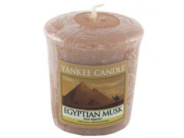 Yankee Candle svíčka Egyptské pižmo | 49g