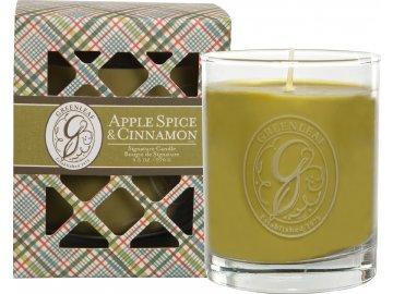 Vonná svíčka Apple Spice & Cinnamon