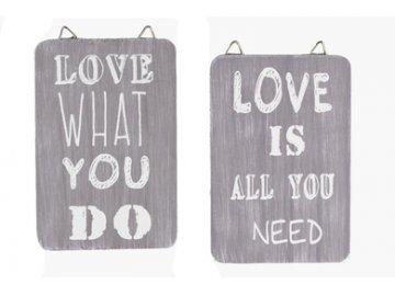Cedulka | Love | sada 2ks