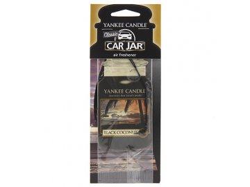 Osvěžovač vzduchu do auta | Západ slunce v ráji | Yankee Candle | papírová visačka | 18g