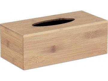 Krabička  na papírové kapesníčky,  bambusová
