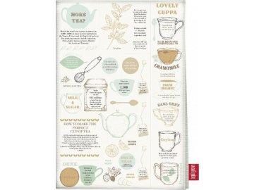 Kuchyňská utěrka Tea