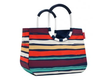 Nákupní taška Loopshopper L | Reisenthel | barevné proužky | 33x46x25cm