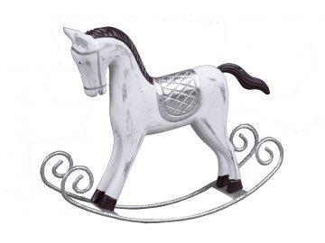 Houpací kůň | bílý | 3 velikosti