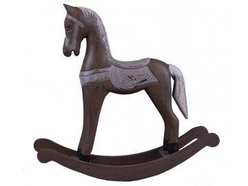 Houpací kůň | hnědý | dřevěný