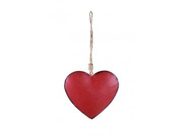 Srdce | červené | závěsné