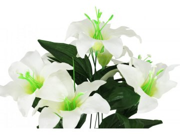 Lilie puget, umělá květina
