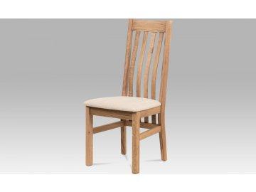 Jídelní židle BEZ SEDÁKU, masiv dub