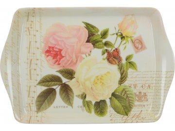 Melaminový tác Rose Garden mini