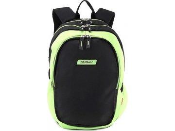 Studentský batoh Target Zeleno-černý
