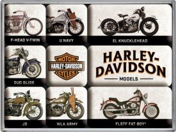 Magnetky na ledničku Harley Davidson