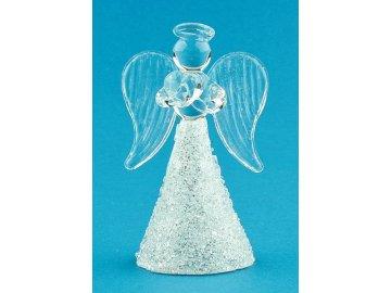 Anděl skleněný 6cm