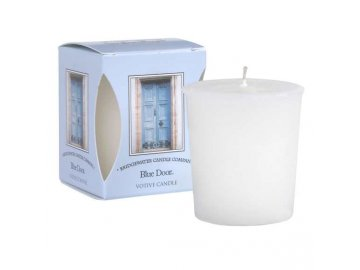 Votivní svíčka Blue Door