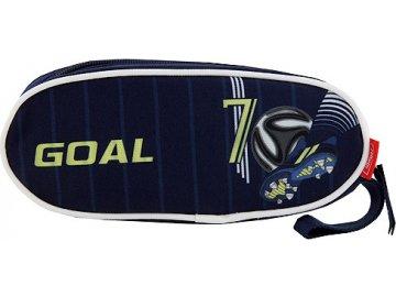 Školní penál Target Goal, barva modrá