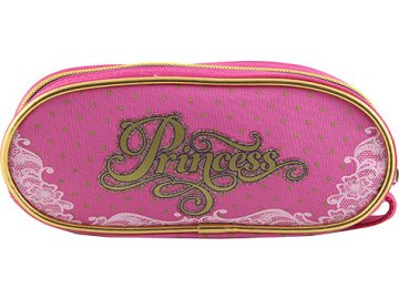 Školní penál Target Princess, barva růžová