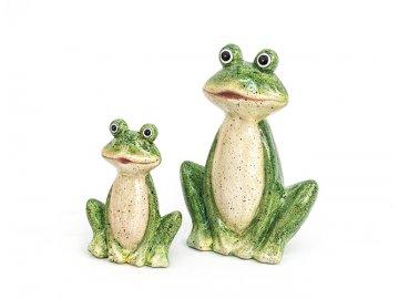Žába | zahradní dekorace | polyresin | varianty