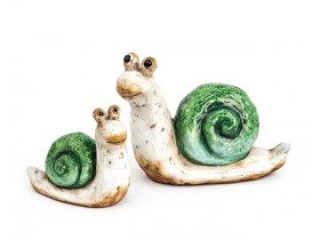Šnek | zahradní dekorace | keramika | varianty
