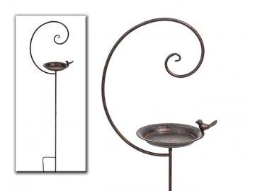 Krmítko | spirála | kov