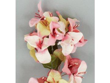Bugenvilie umělá květina, barva růžová