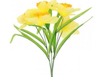 Narciska puget, umělá květina