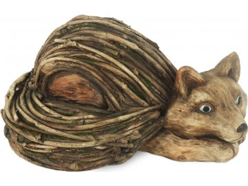 Liška , MgO keramika, dekorace