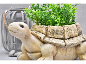 Želva Mia květináč 20x44x33,6 cm