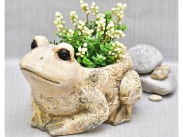 Květináč žabák Bill 23,5x30x36 cm