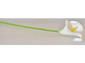 Umělá kala bílá, 37 cm