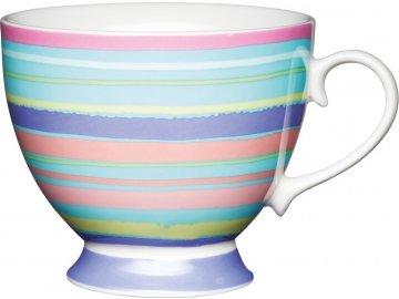 Porcelánový hrníček Bright Stripe