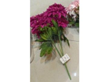 Chryzantéma puget, 7 hlav, umělá květina