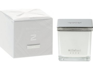 Vonná svíčka Millefiori Milano Dřevo a koření, Zona, 180 g