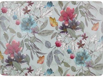 Korkové prostírání Butterfly Floral velké