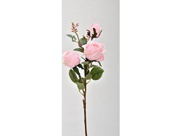 Růže světle růžová 78 cm