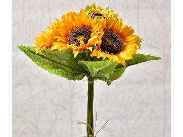 Kytice slunečnic 35 cm