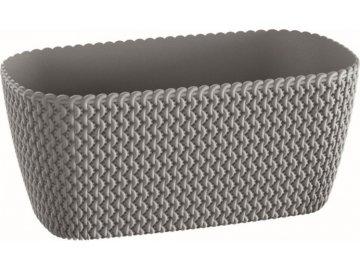 Truhlík Splofy Case šedý kámen
