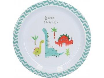 Dětský jídelní talíř Hungrysaurus