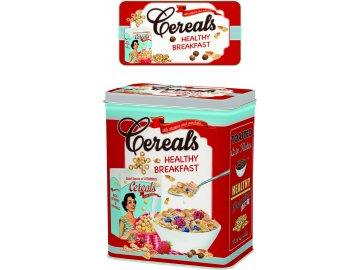 Plechová dóza Cereals