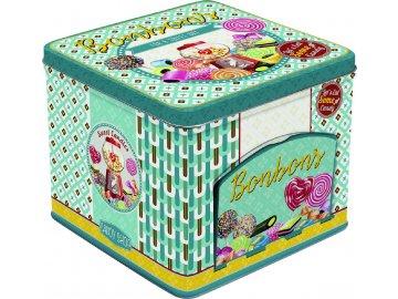 Plechová dóza sladkosti Bonbons