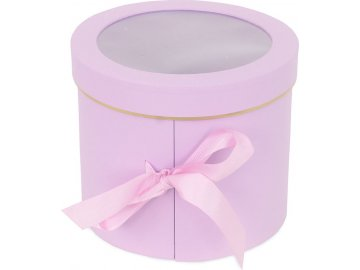 Box papírový, barva světle fialová
