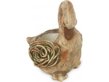 Kachna, MgO keramika s otvorem na květináč, dekorace