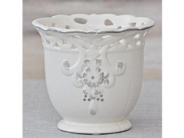 Keramický květináč Antik 12,5 cm
