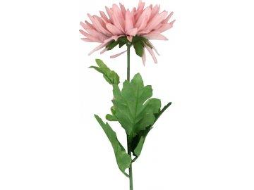 Gerbery, puget, barva vínová. Květina umělá.