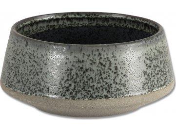 Obal na květiny ve tvaru misky, dekorační keramika
