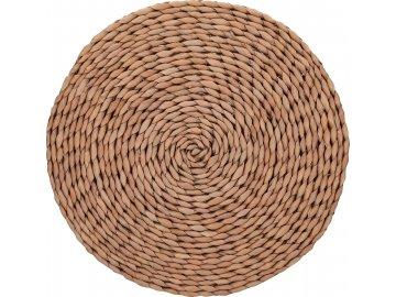 Kulaté prostírání Naturals Woven Brown