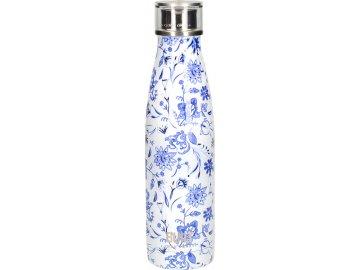 Láhev na vodu Built Blue Flora