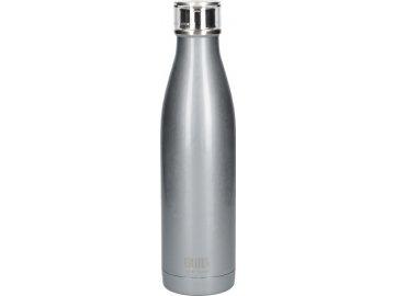 Láhev na vodu Built stříbrná